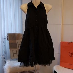 Black Dress Sleeveless Dress